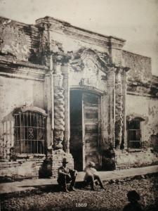 casa de la independencia fachada original 1869